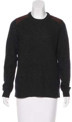 Ralph Lauren Cashmere & Leather Sweater