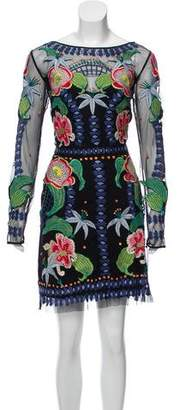 Temperley London Embroidered Mini Dress