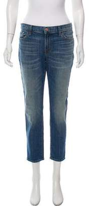 J Brand High-Rise Straight-Leg Jeans w/ Tags