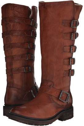 Frye Valerie Belted Tall Cowboy Boots