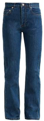 A.P.C. Straight Leg Jeans - Womens - Denim