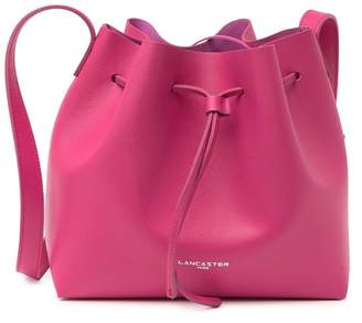 Lancaster Paris Pur Saffiano Leather Bucket Bag