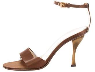 Prada High-Heel Strap Sandals