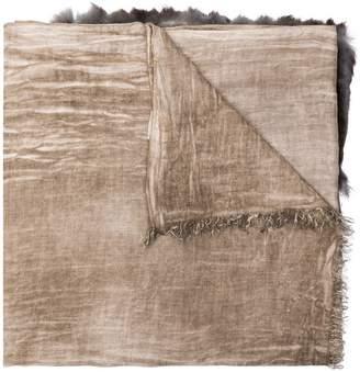 Cutuli Cult appliqué scarf