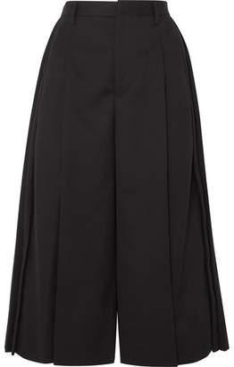 Noir Kei Ninomiya Pleated Wool Culottes - Black