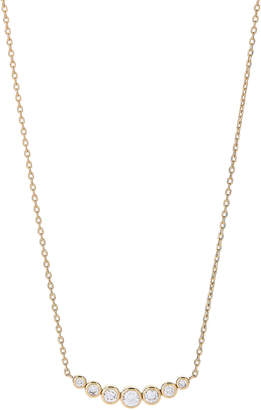 Michael Kors Gold-Tone Crystal Necklace
