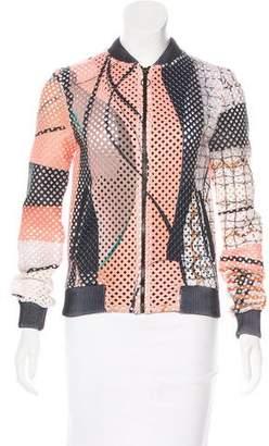 Veda Printed Bomber Jacket