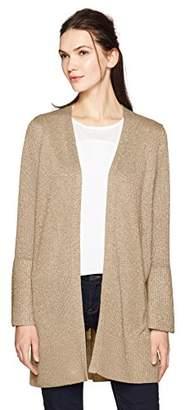 Calvin Klein Women's Lurex Bell Sleeve Cardigan