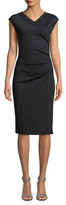 Diane von Furstenberg Ruched Cap-Sleeve Dress