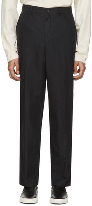 Our Legacy Black Linen 22 Chinos $245 thestylecure.com