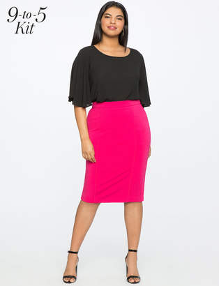 9-to-5 Stretch Work Skirt