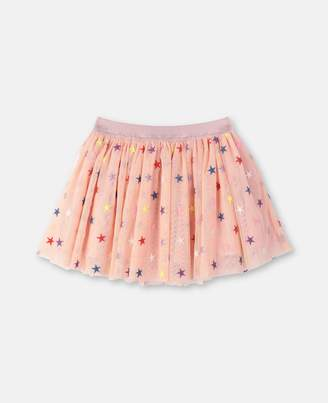 Stella McCartney embroidery stars skirt