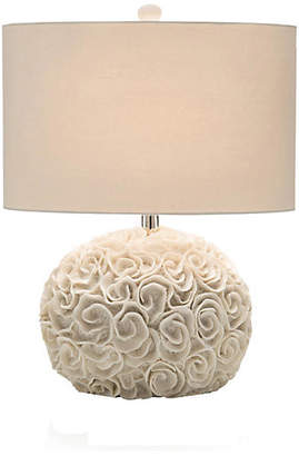 John-Richard Collection Ribbon Cluster Table Lamp - White