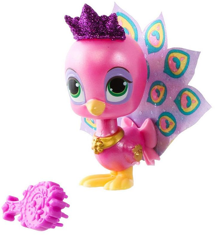 Disney Princess Palace Pets Furry Tail Friends Rapunzel's Peacock Figure