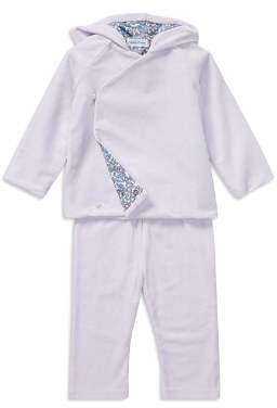 Ralph Lauren Girls' Velour Kimono Top & Pants Set - Baby