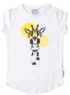Rockin' Baby 6 Sticks Toddler Girl Short Sleeve Giraffe Graphic T-Shirt