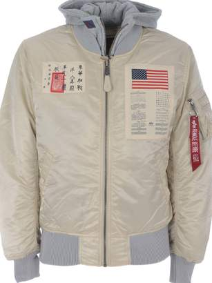 Alpha Industries Ma-1 D-tec Blood Chit Bomber