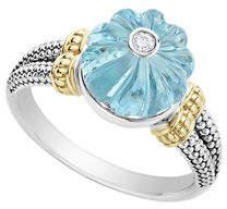Lagos 18k Caviar Forever Bead Ring