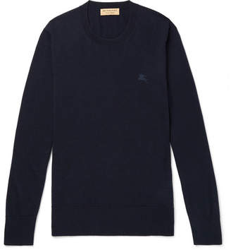Burberry Cashmere Sweater - Navy