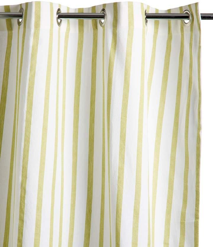 Nine Space Stripe Shower Curtain