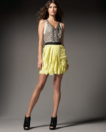 Sachin + Babi Giovanna Layer-Skirt Dress