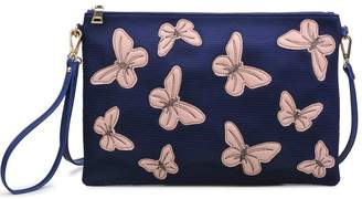 Urban Expressions Pappillon Crossbody Clutch