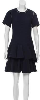 Rebecca Taylor Tiered Mini Dress