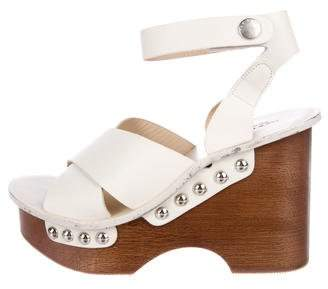 Rag & Bone Leather Platform Sandals