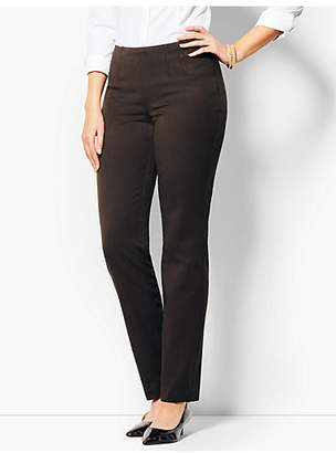Talbots Refined Bi-Stretch Side-Zip Straight-Leg - Curvy Fit