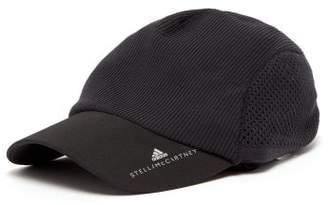 adidas by Stella McCartney Logo Print Technical Jersey Running Cap - Womens - Black