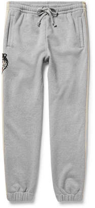 Gucci Appliquéd Loopback Cotton-Jersey Sweatpants