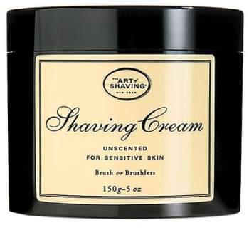 The Art of Shaving Unscented Shaving Cream