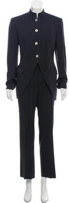 Dolce & Gabbana Wide-Leg Pinstripe Pantsuit