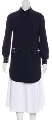 Chiara Boni Long Sleeve Studded Tunic w/ Tags