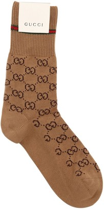Gucci Logo Cotton Socks
