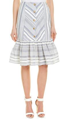 Red Carter Emma Skirt