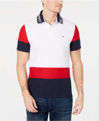 Tommy Hilfiger Men Classic Fit Bryant Colorblocked Polo