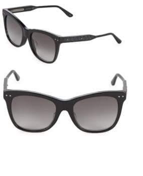 Bottega Veneta 54MM Cat Eye Sunglasses