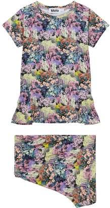 Molo Save The Bees Short Pyjama Set