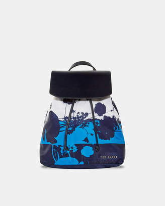 Ted Baker AMARILY Small bluebell drawstring backpack