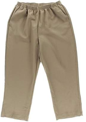 Alfred Dunner Women's Plus-Size Poly Proportioned Medium Pant