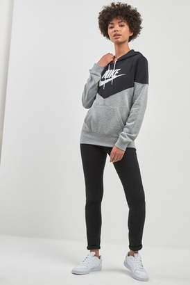 Next Womens Nike Heritage Colour Block Hoody
