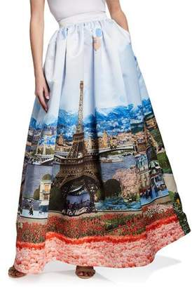 Alice + Olivia Tina Long Ball Gown Skirt