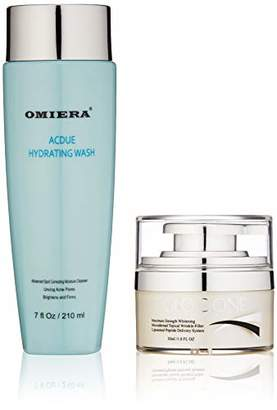 Omiera Glocione Anti-Wrinkle Night Cream with Hyaluronic Acid For Face and Neck