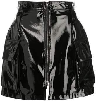Natasha Zinko zip front mini skirt