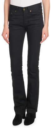Saint Laurent Straight-Leg Boot-Cut Jeans