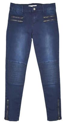 Tractr Moto Skinny Jeans