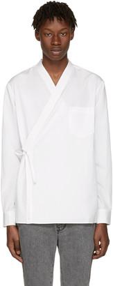 3.1 Phillip Lim White Kimono Shirt $375 thestylecure.com