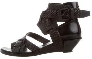 Alexander WangAlexander Wang Braided Leather Sandals