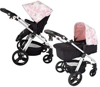 My Babiie Katie Piper MB150 Pink Butterflies Pram & Pushchair